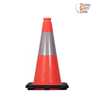 "18"" Traffic Cone with HI Collar"