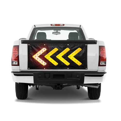 Magnetic LED Direction Sign