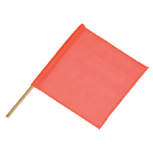 Sign Stand Flag Orange