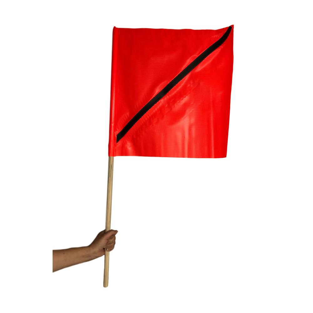 Airport Barricade Flag