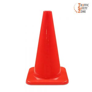 Solid Orange Cones