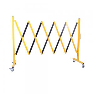 Portable Expanding Barricade Yellow-Black