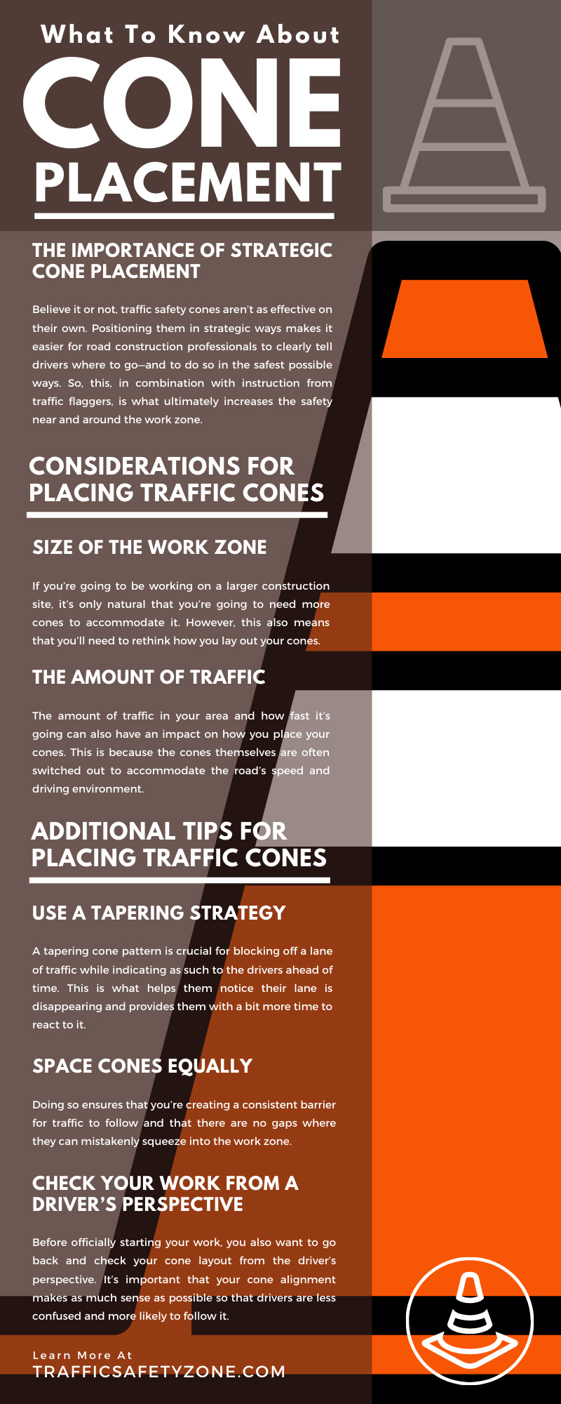 What To Know About Cone Placement
