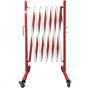Collapsible Barrier Red