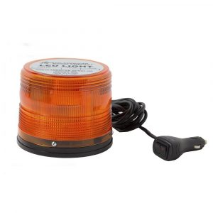 Amber LED Beacon Magnetic Mount 5 Flash Patterns Class 1 Hex and Single Mode SAB-AB-675MX-A